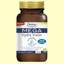 Mega Hydra Visión - 30 cápsulas - Dietisa