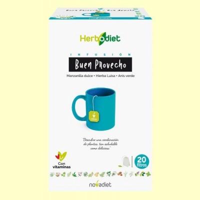 Infusión Herbodiet Buen Provecho - 20 bolsitas filtro - Novadiet