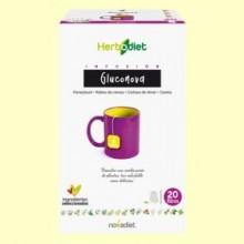 Infusión Herbodiet Gluconova - 20 bolsitas filtro - Novadiet