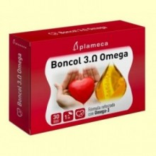 Boncol 3 Omega - Colesterol - 30 cápsulas vegetales - Plameca