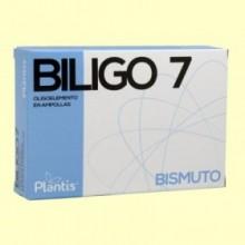 Biligo 7 Bismuto - 20 ampollas - Plantis