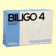 Biligo 4 Manganeso - 20 ampollas - Plantis