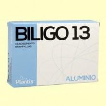 Biligo 13 Aluminio - 20 ampollas - Plantis