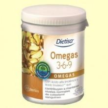 Omegas 3-6-9 - Dietisa - 60 perlas