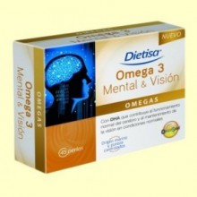 Omega 3 Mental y Visión - 45 perlas - Dietisa