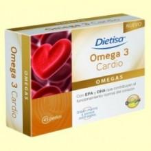Omega 3 Cardio - 45 perlas - Dietisa