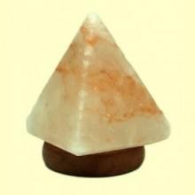 Lámpara de Sal Pirámide Multicolor con USB