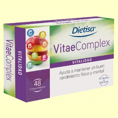 VitaeComplex - Vitalidad - 48 comprimidos - Dietisa
