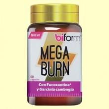 Mega Burn - 60 cápsulas - Biform