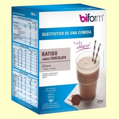 Batido de Chocolate - 5 sobres - Biform