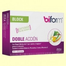 Biform Block Doble Acción - Control de Peso - 30 cápsulas - Biform