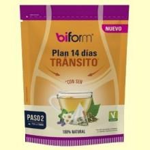 Plan 14 días Tránsito - 14 infusiones - Biform