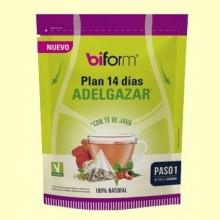 Plan 14 días Adelgazar - 14 infusiones - Biform