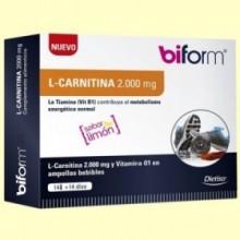 L-Carnitina 2000 mg - 14 viales - Biform