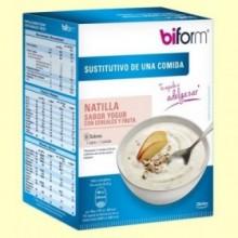 Crema Yogur con Cereales y Fruta - 6 sobres - Biform