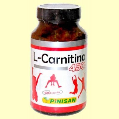L Carnitina - 100 cápsulas - Pinisan