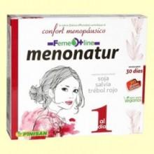 Menonatur - Menopausia - 30 cápsulas - Pinisan