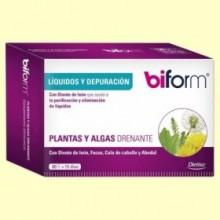 Plantas y Algas Drenante - 60 cápsulas - Biform
