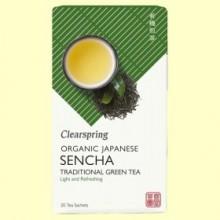 Té Verde Sencha - 20 filtros - Clearspring