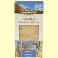 Lasaña Blanca Bio - 250 gramos - La Bio Idea