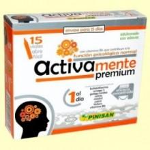 Activamente Premium - Función Psicológica Normal - 15 viales - Pinisan
