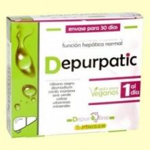 Depurpatic - Función Hepática - 30 cápsulas - Pinisan