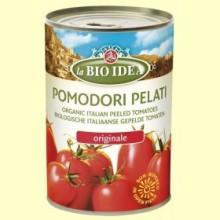 Tomates Enteros Pelados - 400 gramos - La Bio Idea