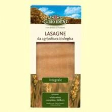Lasaña Integral Bio - 250 gramos - La Bio Idea
