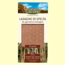 Lasaña de Espelta Bio - 250 gramos - La Bio Idea
