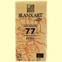 Chocolate Negro 77% Perú Bio - 125 gramos - Blanxart