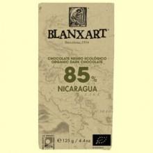 Chocolate Negro 85% Nicaragua Bio - 125 gramos - Blanxart