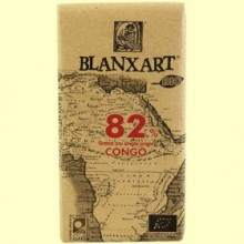 Chocolate Negro 82% Congo Bio - 125 gramos - Blanxart
