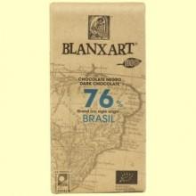 Chocolate Negro Brasil 76% Bio - 125 gramos - Blanxart