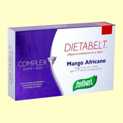 Dietabelt Mango Africano - 60 cápsulas - Santiveri