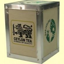Caja de Madera para guardar el Té - Capacidad 250 gramos