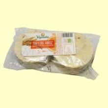 Tortitas de Arroz Yogur y Naranja Bio - 100 gramos - Vegetalia