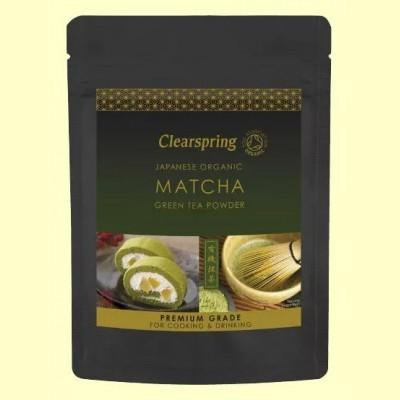 Té Verde Matcha polvo Premium - 40 gramos - Clearspring
