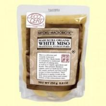 Miso Blanco Pasteurizado Orgánico - 250 gramos - Mitoku