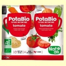 Potabio Tomate con Albahaca - Caldos y potajes - 2 x 8,5 gramos - Nat Ali