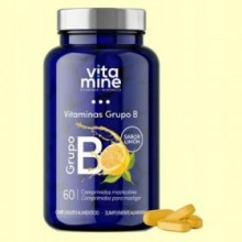 Vitaminas Grupo B Vitamine - 60 comprimidos - Herbora