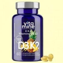 Vitamina D3 y K2 Vitamine - 60 comprimidos - Herbora