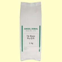 Té Rojo Pu-erh - 1 Kg - Angel Jobal