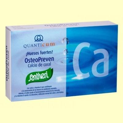 Osteopreven Calcio Coral - 40 cápsulas - Santiveri
