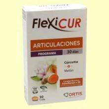 Flexicur - Bienestar para sus articulaciones - 30 comprimidos - Laboratorios Ortis