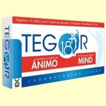 Tegor 18 Plus Ánimo Mind - 40 cápsulas - Tegor