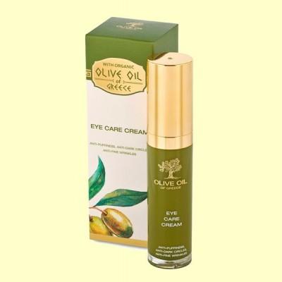 Crema Cuidado Contorno Ojos - 30 ml - Biofresh Olive Oil of Greece
