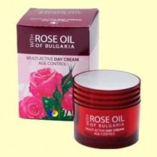 Crema de Día Multi Activa Age Control Filtro UV - 50 ml - Biofresh Regina Roses