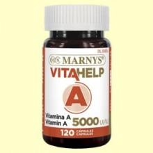 Vitahelp Vitamina A 5000 UI - 120 cápsulas - Marnys