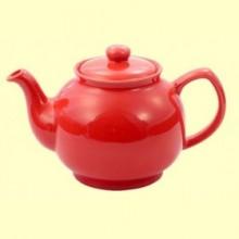 Tetera Alan de Cerámica Color Rojo - 1 litro - Cha Cult