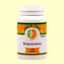 Betacaroteno / Pro-Vitamina A - 100 Perlas - Nutri Force
